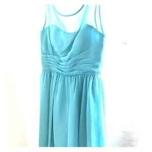 High-low bridesmaid dress